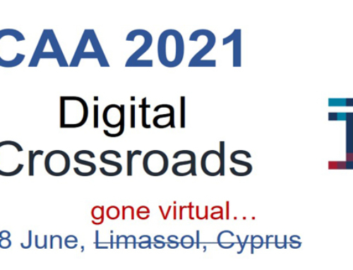 3D Scholarly Editions at CAA2021