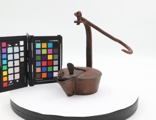 Digitising Mining Lamps from the Nederlands Mijnmuseum